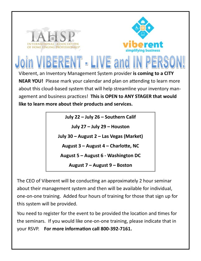 Viberent US Tour