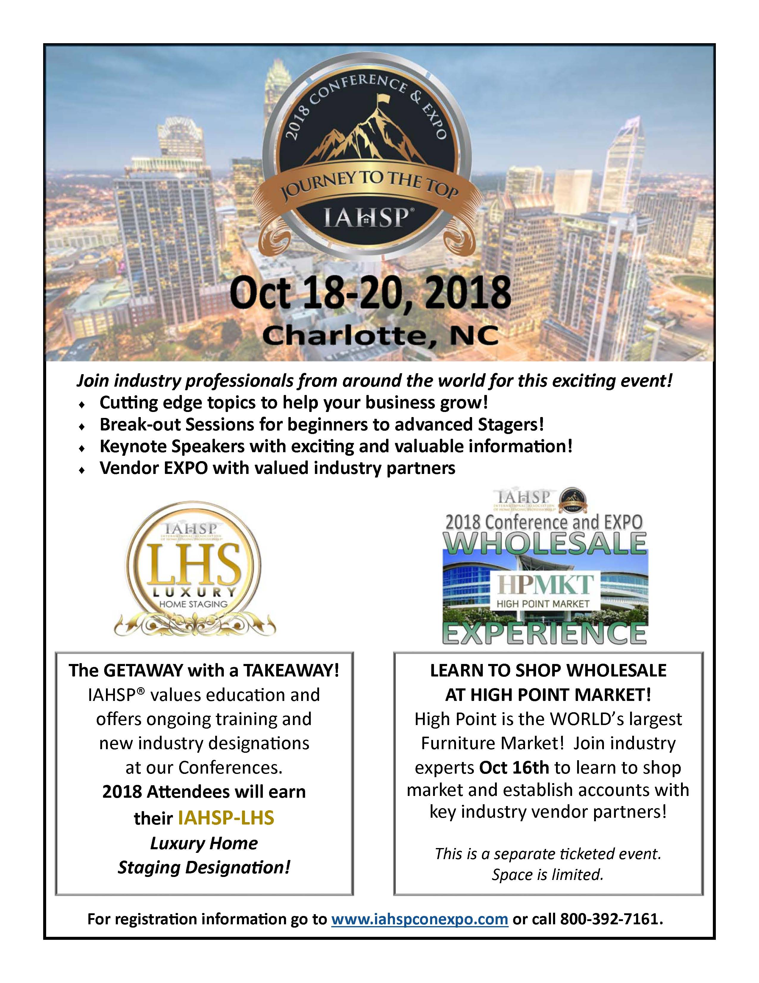2018 IAHSP Conf Flyer