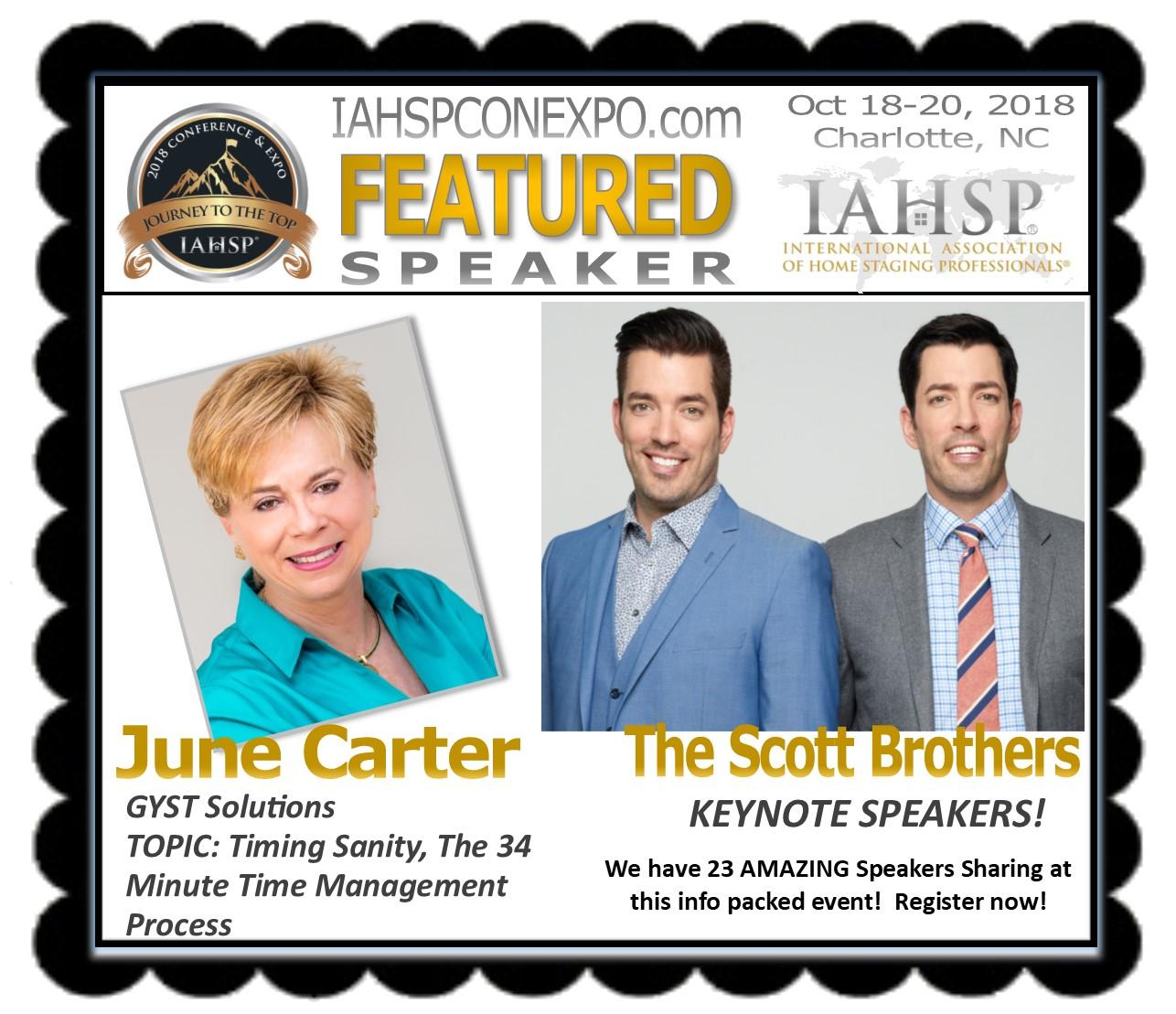 Carter Speaker Promo