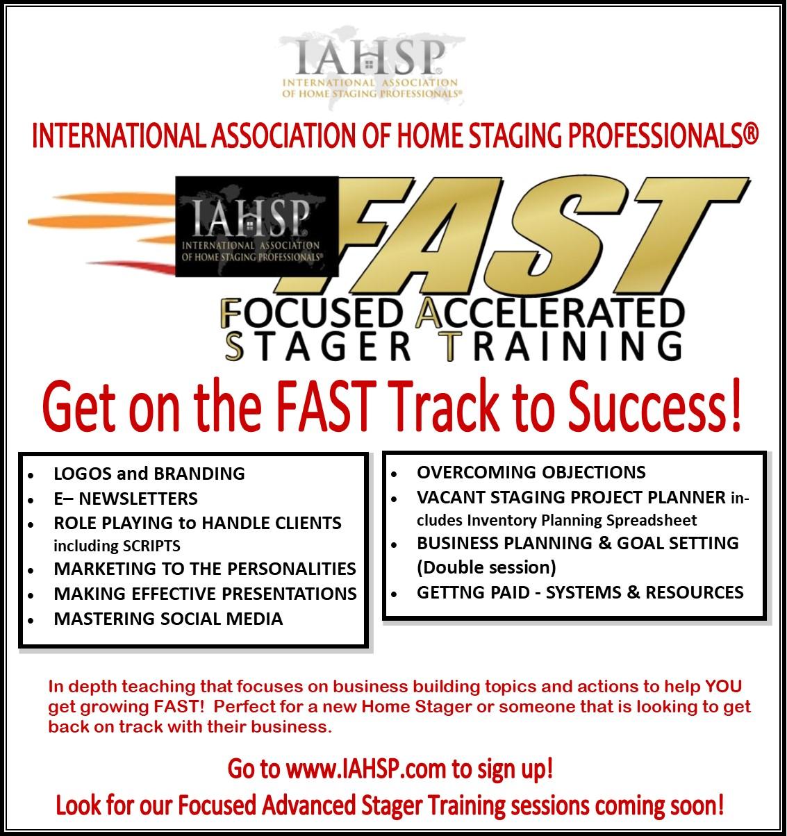 FAST Promo - IAHSP