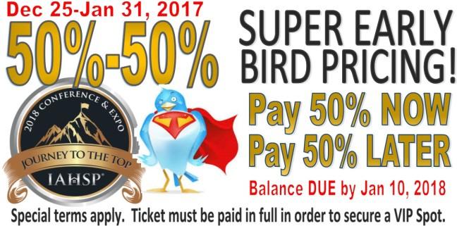 SuperEarlyBird50-50