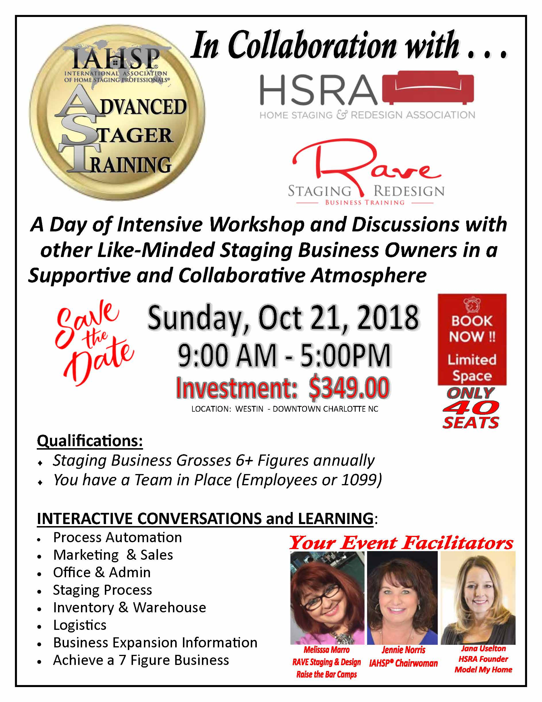 Advanced Stager Training promo