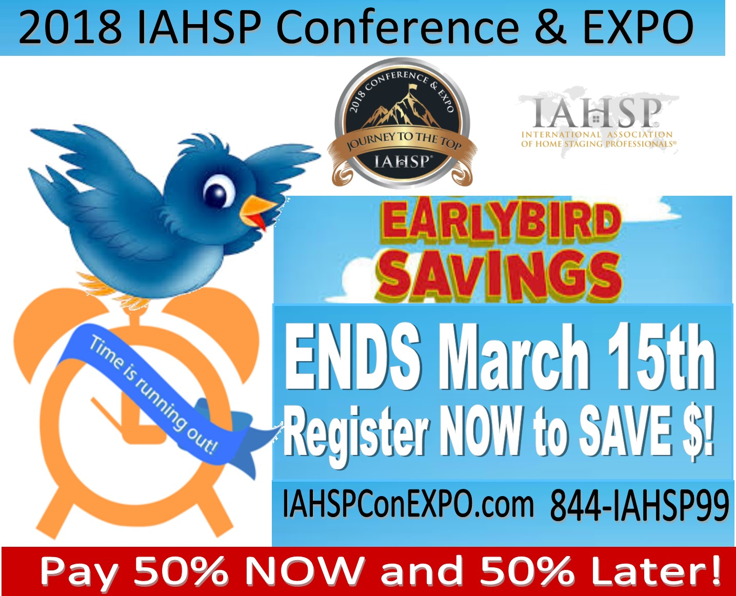 Early Bird Mar 15 Promo