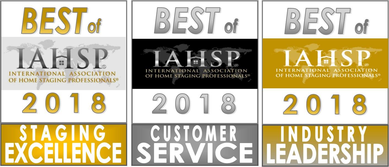 Best of IAHSP Awards - Combined Logos